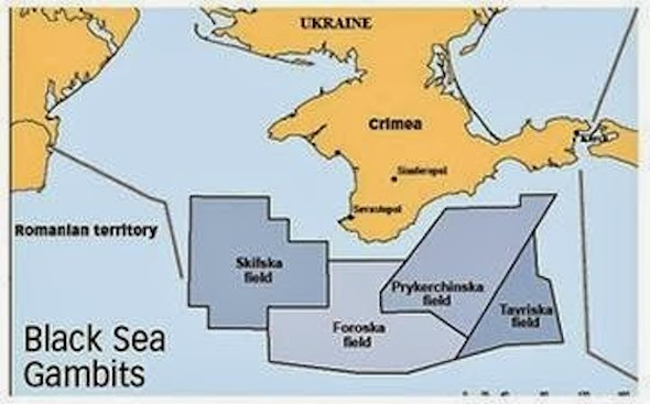 ExxonMobil Shell Ukraine Skifska Map1